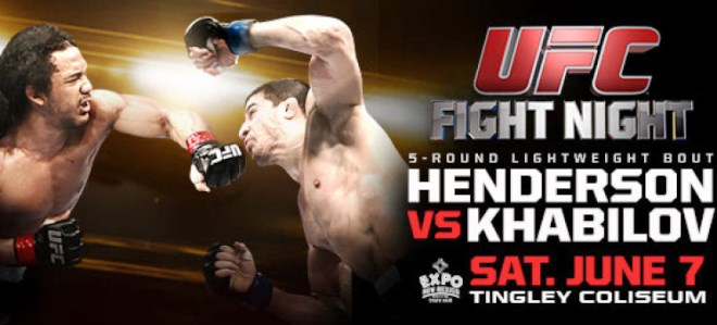 Постер к турниру UFC Fight Night 42