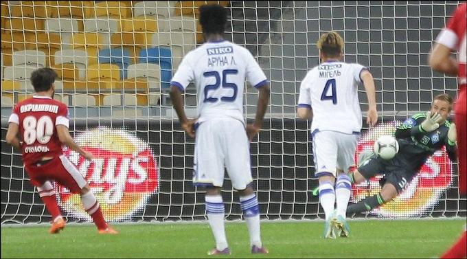 Коваль отразил первый пенальти в своей динамовской карьере