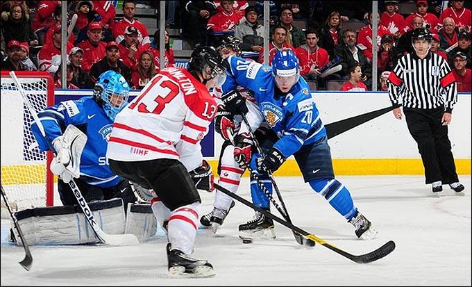 26 декабря 2011 года. Эдмонтон. Молодежный чемпионат мира. Финляндия — Канада — 1:8