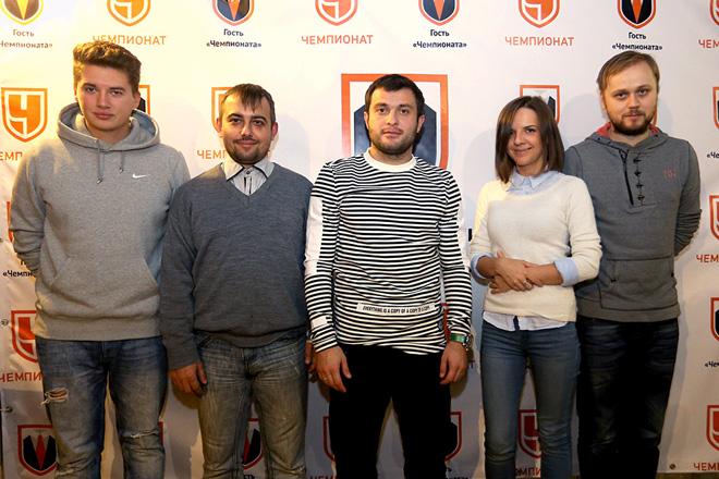 Леонид Волотко, Денис Целых, Алан Касаев, Галина Козлова и Антон Матвеев