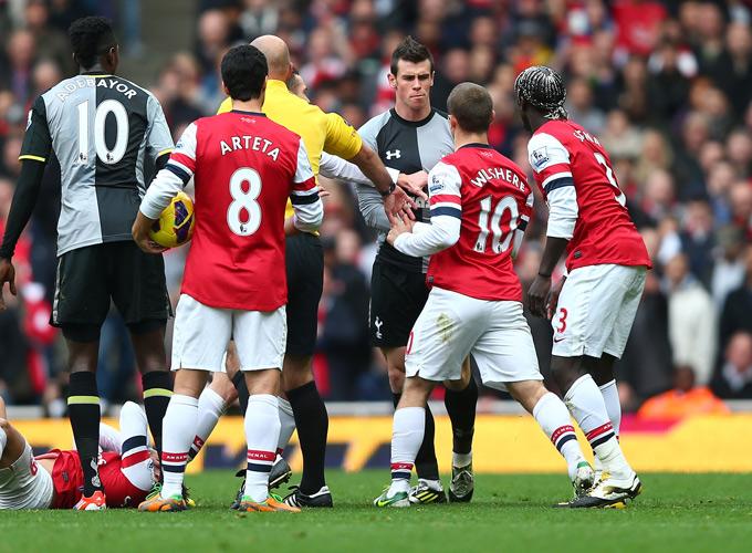 "17 ноября 2012 года: ""Арсенал"" — ""Тоттенхэм Хотспур"""