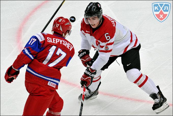 Антон Слепышев против сборной Канады