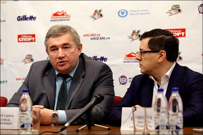 Джамиль Насретдинов и Дмитрий Ефимов