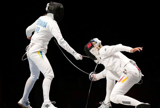 На Олимпиаду в Лондон Шемякина ехала в качестве 11-й шпажистки мира