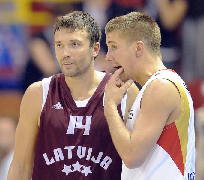 Кристапс Яниченокс стал спасителем сборной Латвии в матче с Черногорией