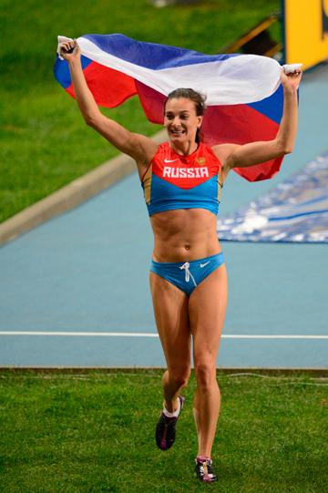 Елена Исинбаева – победитель ЧМ-2013 в прыжках с шестом!