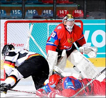 14 апреля 2012 года. Зноймо. Юниорский чемпионат мира. Россия — Германия — 2:4