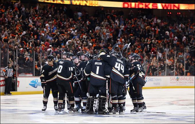 """Итоги сезона НХЛ. """"Анахайм Дакс"""""""