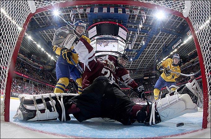 26 декабря 2011 года. Эдмонтон. Молодежный чемпионат мира. Латвия — Швеция — 4:9