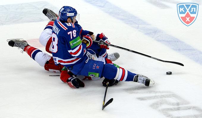 """СКА против """"Локомотива"""""""