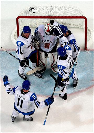 Финляндия — единственная из стран большой хоккейной шестёрки ни разу не выигрывала Олимпиаду