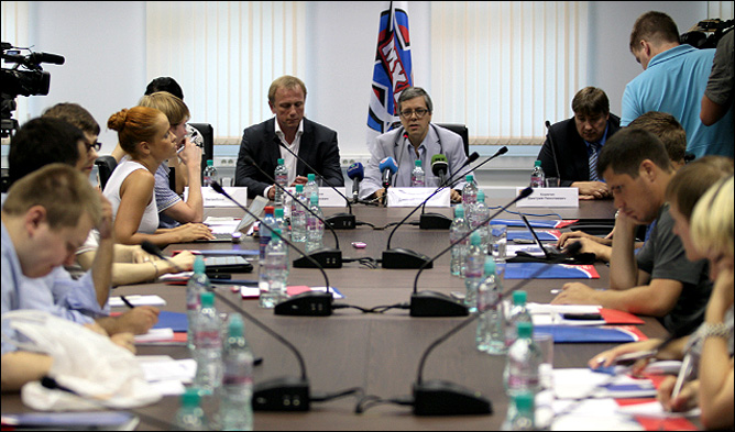 Специальная пресс-конференция МХЛ