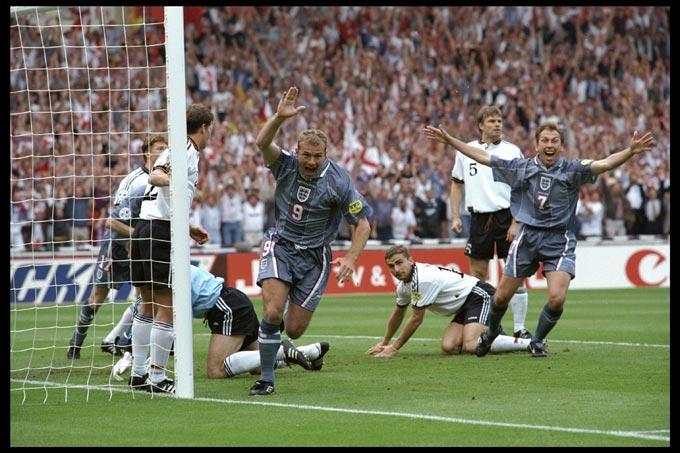 Евро-1996. Англия – Германия. Алан Ширер