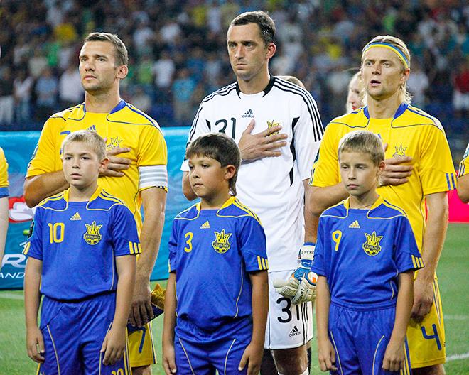 Андрей Дикань в сборной Украины