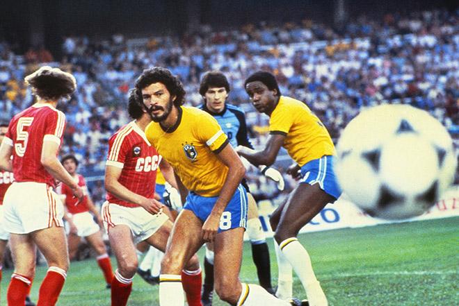 ЧМ-1982. СССР — Бразилия — 1:2
