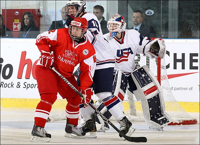 15 апреля 2012 года. Брно. Юниорский чемпионат мира. Дания — США — 0:4