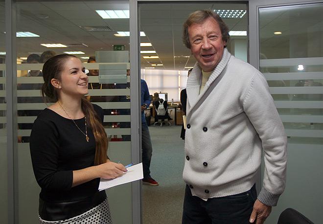 Юрий Сёмин в гостях у «Чемпионата»