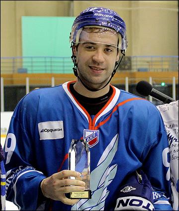 Виктор Луговской — лучший игрок матча