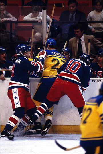 Олимпиада-1980. США — Швеция