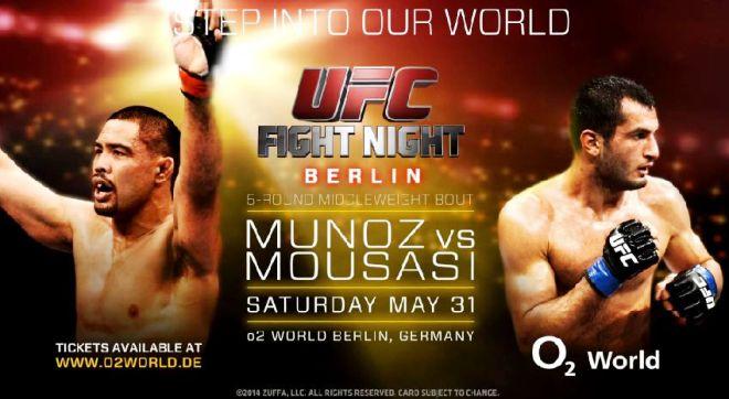 Постер к турниру UFC Fight Night 41