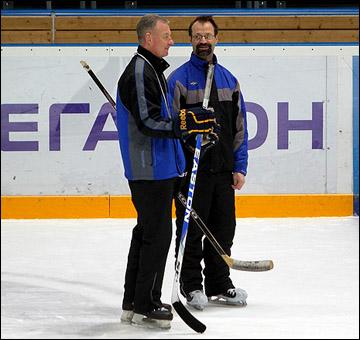 Яри Каарела (слева) и Янне Карлссон