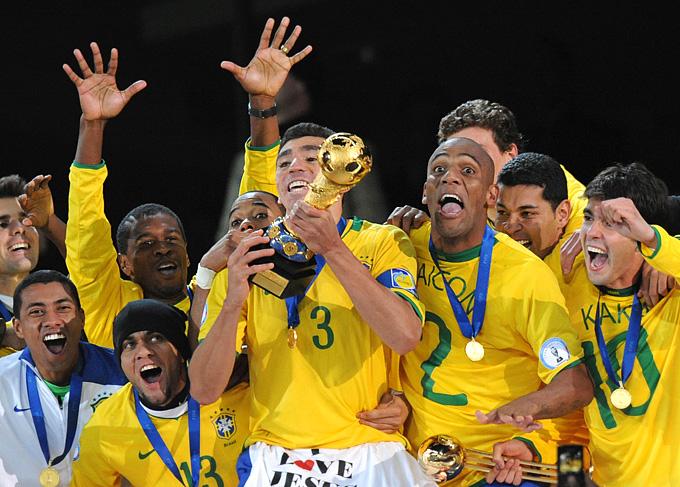 Сборная Бразилии — победители Кубка конфедераций – 2009