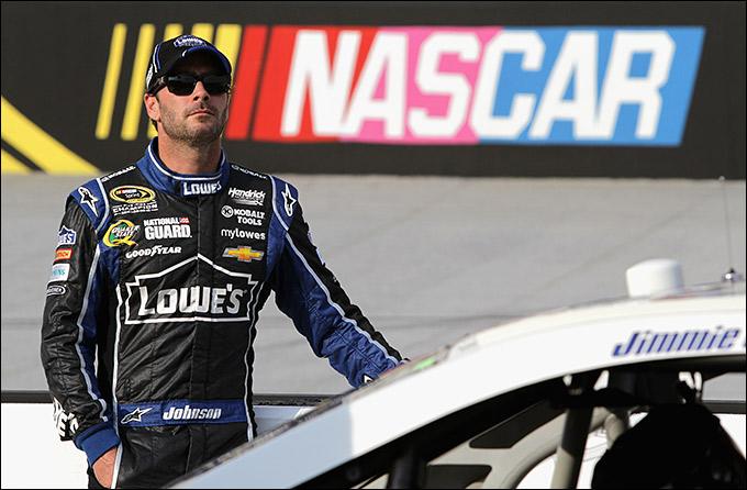 "Джимми Джонсон (""Хендрик Шевроле"", NASCAR)"