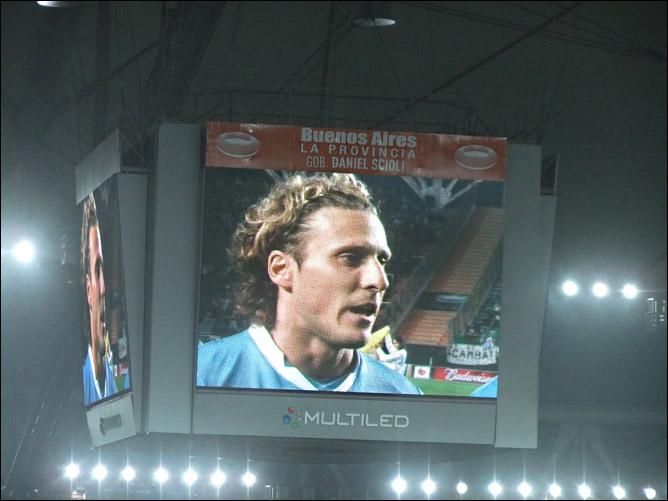 Диего Форлан провёл в Ла-Плате во вторник 79-й матч за сборную, установив национальный рекорд