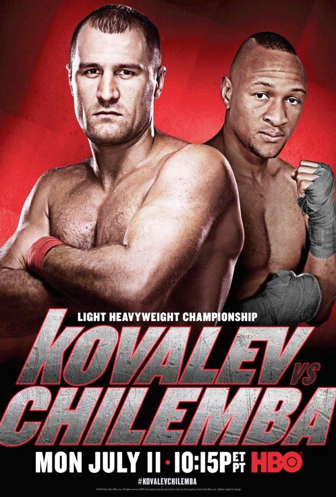 Постер к бою Ковалёв — Чилемба