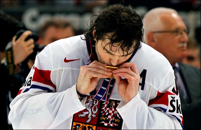 Яромир Ягр – чемпион мира 2010 года.