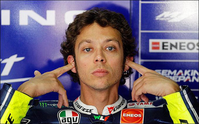 """Валентино Росси (""""Ямаха"""", MotoGP)"""
