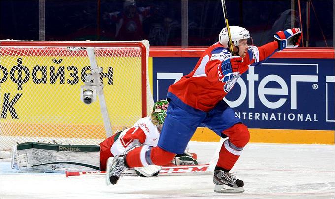 5 мая 2013 года. Стокгольм. Чемпионат мира. Групповой этап. Норвегия — Дания — 3:2