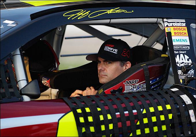 """Джефф Гордон (""""Хендрик Шевроле"""", NASCAR)"""