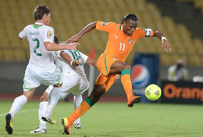 Алжир – Кот-д'Ивуар – 2:2. В атаке Дидье Дрогба