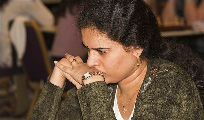 Соотечественница Ананда Хампи Конеру пока опережает всех соперниц