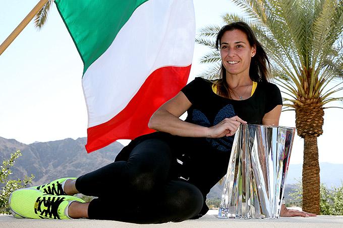 Флавия завоевала крупнейший титул в карьере
