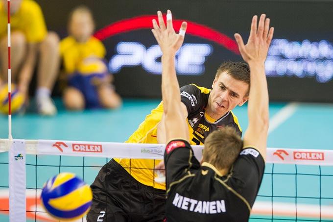В первом туре чемпионата Польши Мариуш Влажлы сыграл на позиции доигровщика