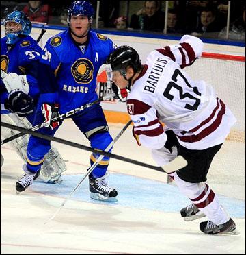 Казахстан и Латвия делили между собой путевку в Сочи-2014