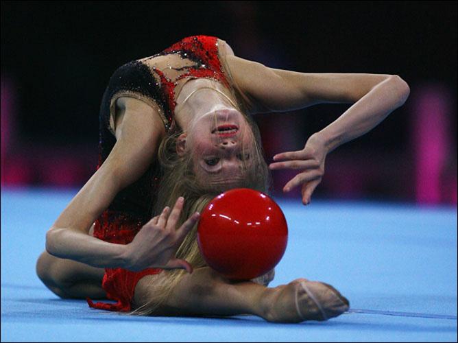 Десятиктратная чемпионка мира Ольга Капранова. Ныне — тренер будущих звёзд мировой гимнастики