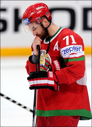 Алексей Калюжный в сборной Белоруссии