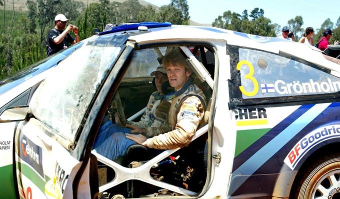 Гронхольм после рокового переворота на Ралли Австралии-2006