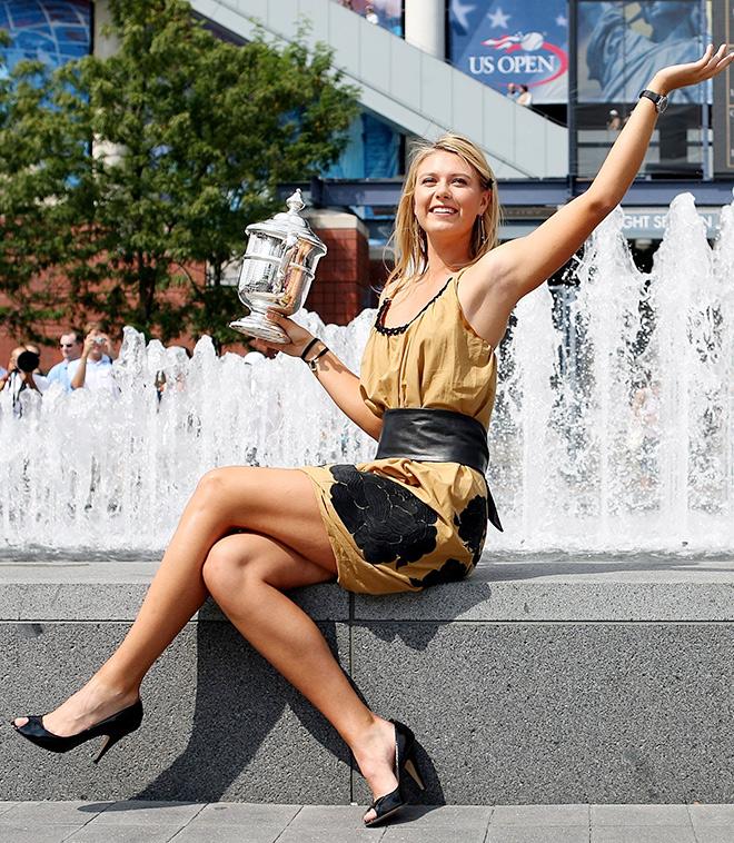 2006. US Open. Финал — Мария Шарапова — Жюстин Энен — 6:4, 6:4