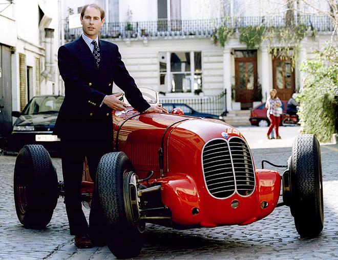 Maserati 6CM и принц Эдуард