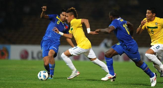 Схватка сборный Бразилии и Парагвая будет жаркой…