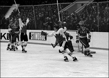 Победный гол Пола Хендерсона в 8-м матче Суперсерии-1972