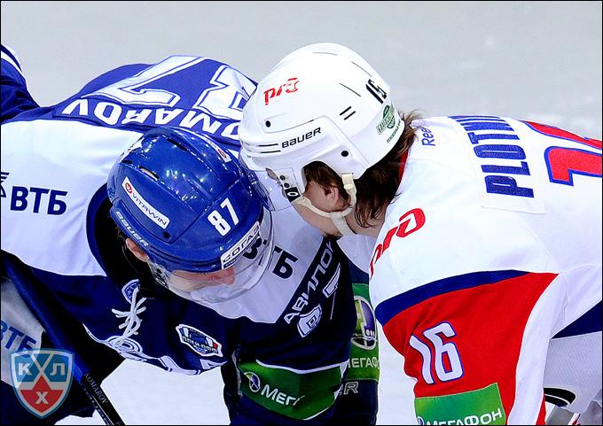 Сергей Плотников (справа) и Лео Комаров
