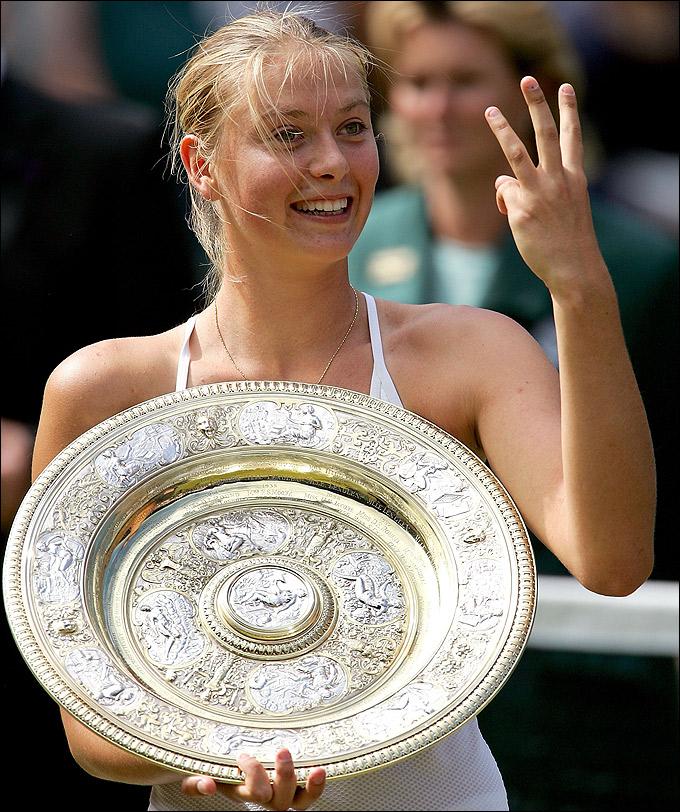 Великолепная победа 17-летней Марии Шараповой на Уимблдоне