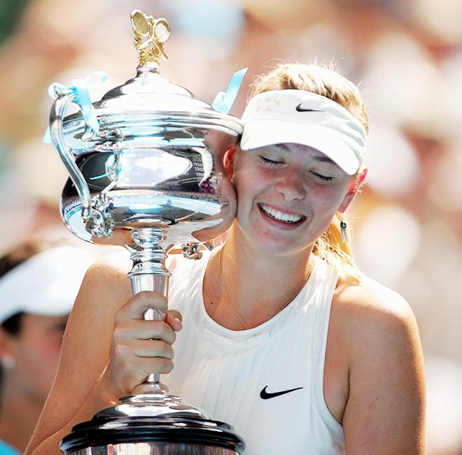 2008. Australian Open. Мария Шарапова — Ана Иванович — 7:5, 6:3