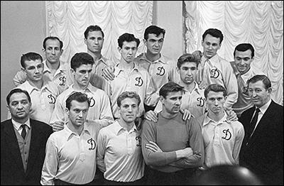 """Футбольное """"Динамо"""" — чемпион СССР 1959 года"""