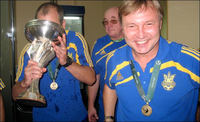 Калитвинцев руководил сборной на Евро-2009